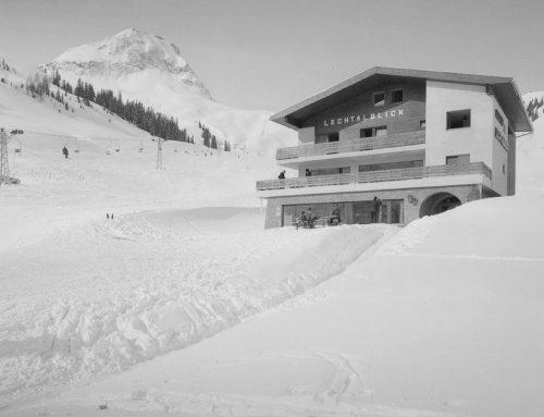 Historische Aufnahmen aus Warth am Arlberg