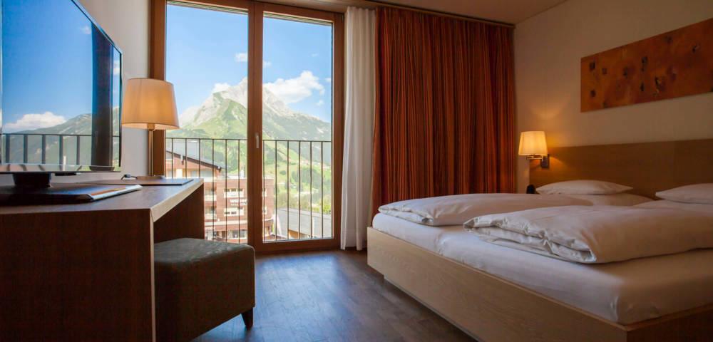 Warth Arlberg Hotelzimmer Suit Lech