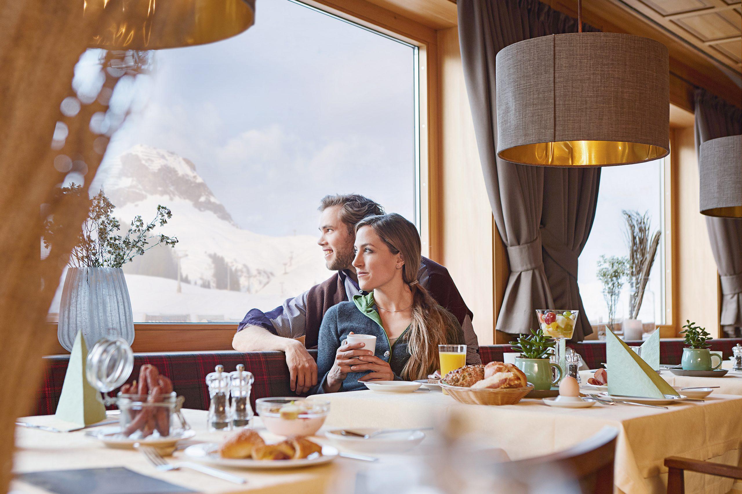 Verwöhnfrühstück im Hotel Steffisalp
