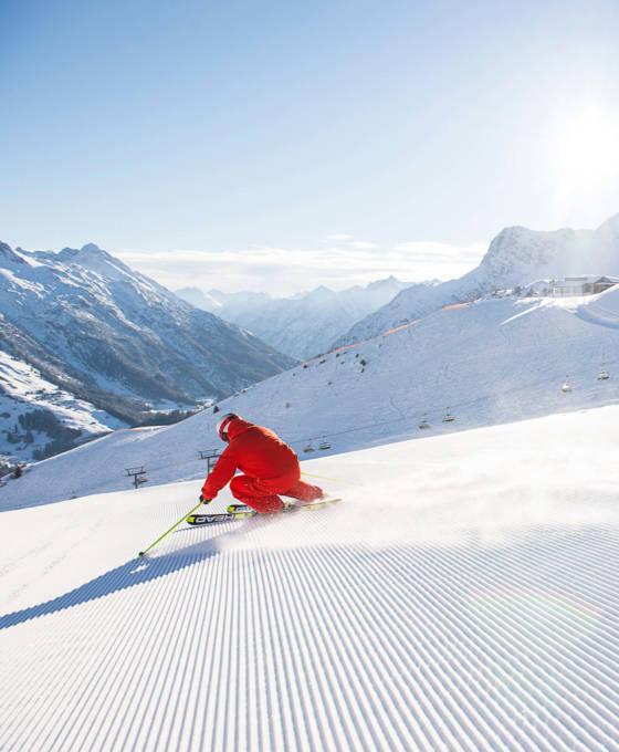 Skinfahren in Vorarlberg Pauschale