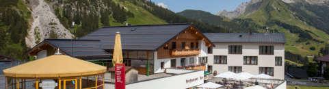 Sommerpauscheln Steffisalp Vorarlberg