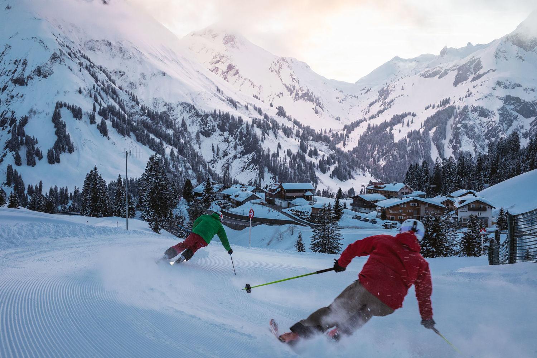 Skifahren in Warth am Arlberg