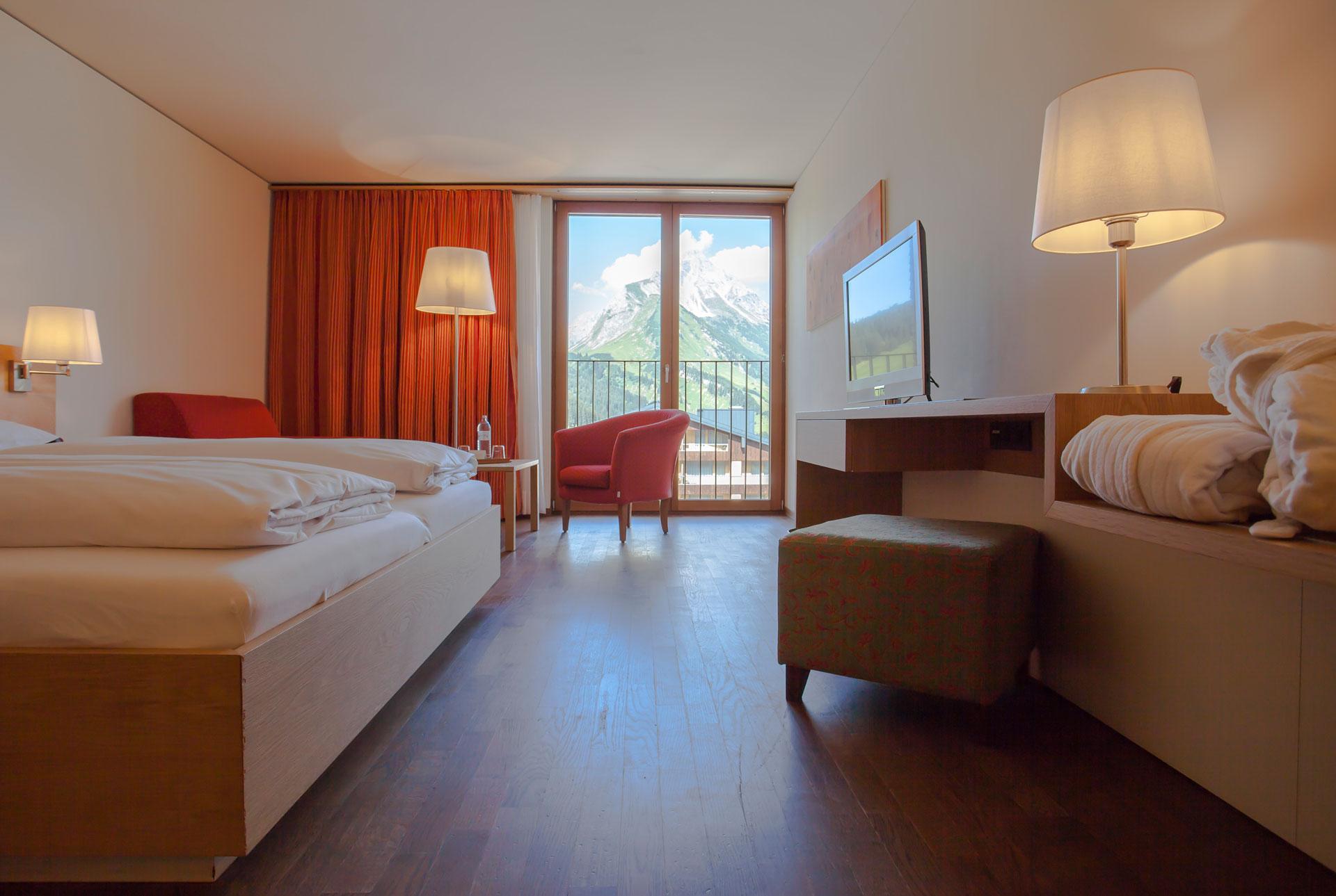 Hotelzimmer Vorarlberg